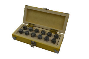 12 Piece Super Precision Er20 Collet Set For Cnc Accuracy Level 0 008mm