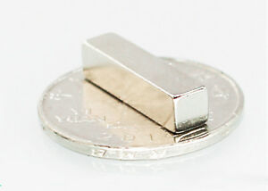 Wholesale 20mm X 5mm X 5mm Block Strong Rare earth Neodymium Magnets N50