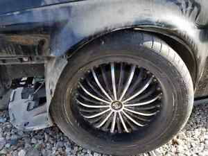 Jaguar X Type 2001 02 03 2004 2005 2006 2007 2008 Set 4pc 18 Wheels With Tires