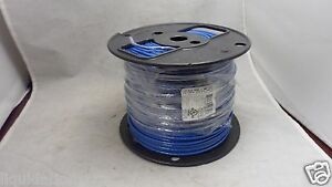 New Colonial Wire Cable Thhn thwn 14 Awg 15 Amp 500 Ft Blue E148891 j 14 19