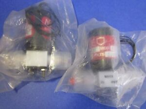 Mace Solenoid Teflon Valve 802 2238 2 0 Lot Of 2 New