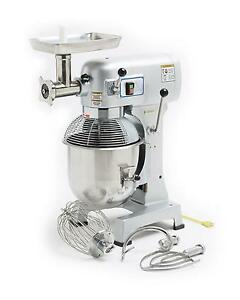 Hebvest Sm20hd 20 Quart Commercial Mixer With Meat Grinder Attachment