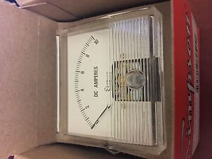 Simpson Ammeter 10a Dc Analog Panel Mount Model 922a