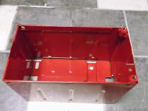 Ihc Farmall 300 400 450 Battery Box With Ih Emblem
