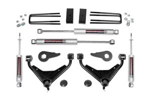 Chevy Gmc 2500hd 3 Lift Kit Shocks 01 10 4wd with ft Rpo Code Rough Country