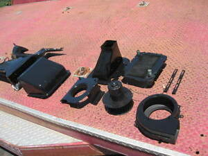 1957 Chevy Heater Blower Motor With Housing Bracket Ducting Heater