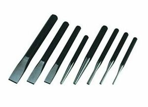 Atd Tools Chisel Punch Set 8 Pc