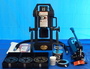Gates Mobilecrimp 4 20 Digital Dial Hydraulic Hose Crimper With Hand Pump