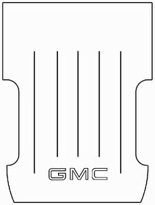 1947 1954 Gmc Panel Delivery Suburban Truck Bed Floor Cover G 001 Gmc Logo