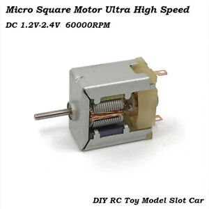 Dc1 2v 35000rpm High Speed Mini 020 Square Thin Hm Motor For Hobby Toy Model Diy