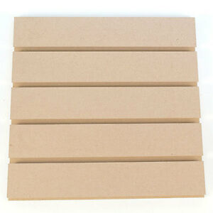 Count Of 2 New Paint Grade Vertical Slatwall Panel 4 w X 8 h 3 oc