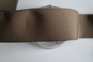 1 Yard Of 2 1 8 Vintage Petersham Grosgrain Brown Ribbon Hat Band Dress
