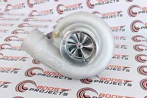Precision Turbo 7675 Hp Cover Cea Billet 1200hp Journal Bearing T4 A R 96 V Band