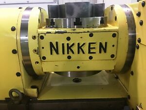 Nikken 5ax 200ii Cnc 5 Axis Rotary Table haas Magmotor With Controller