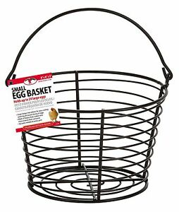 Little Giant Egg Basket Coated Wire Makes Cooling Washing Eggs Easy Holds 3doz