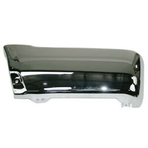 Am Rear left Driver Side Bumper End For Toyota 4runner Chrome To1104103