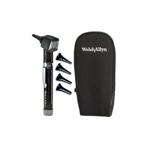 Welch Allyn Junior Otoscope Pocketscope Set With Handle And Soft Case