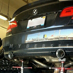 Stainless Steel 4 Dual Wall Exhaust Tips 2 25 In For Bmw 3 Series M3 E90 E92