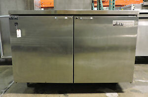 Norlake Fc9as Commercial 2 Door Undercounter Reach in Refrigerator