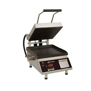 Star Pst7ie Pro max 2 0 Sandwich Grill With 7 5 Smooth Cast Iron Plates
