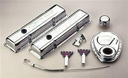Proform Gm Performance 141 001 Sbc Engine Dress up Kit Steel Chrome Chevy 350