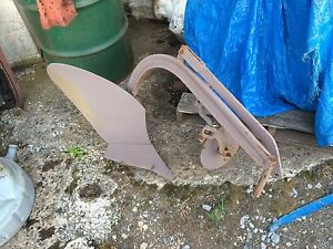 Vintage One Bottom Plow Deere Hamburg Ferguson Allis Garden Decor Farm Equipment