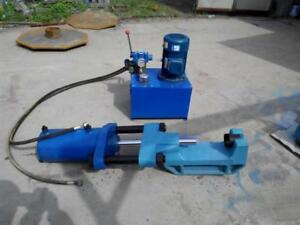 100t Electric Hydraulic Track Pin Press Shipping By Sea Fob Vancouver Port