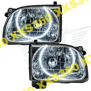 Oracle Halo Headlights Toyota Tacoma 01 04 White Led Angel Demon Eyes