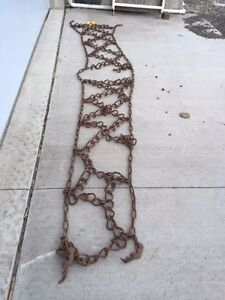 Tractor Tire Chains 16 9x34 h style Sold As One Chain