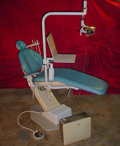 Adec Dental Chair Model 1021 W Exam Light Foot Controls Works Great