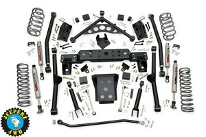 99 04 Jeep Wj Grand Cherokee 4 Long Arm Suspension Lift Kit 90820 quick Ship