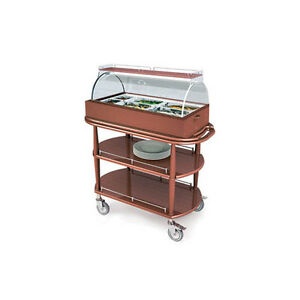 Lakeside 70360 21 5 8 dx43 3 8 wx49 1 4 h Spice Appetizer Cart