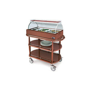 Lakeside 70375 21 5 8wx43 3 8 wx49 7 8 h Spice Hot Meal Cart