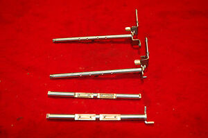 1957 61 Dual Quad Throttle Shaft Set Chevy Corvette Carter Wcfbs 2 Carbs 4pc