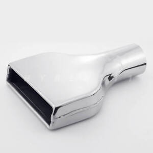 2 5 Chevy Camaro Z28 Ss Style Square Polished Stainless Steel Exhaust Tip