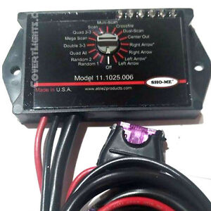 New Sho me Led Micro rotary Switch With Built in Led Flasher Six Outputs