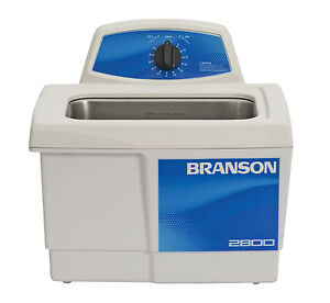 Ultrasonic Cleaner Branson M2800 Mechanical Timer 60 Min 75 Gal Cpx 952 216