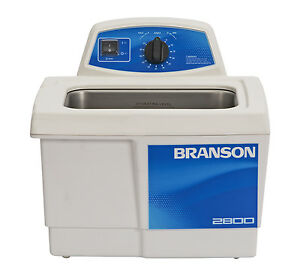Ultrasonic Cleaner Branson M2800h Mechanical 60 Min Heat 75 Gal Cpx 952 217