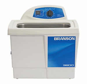 Ultrasonic Cleaner Branson M3800h Mechanical 60 Min Heat 1 5 Gal Cpx 952 317