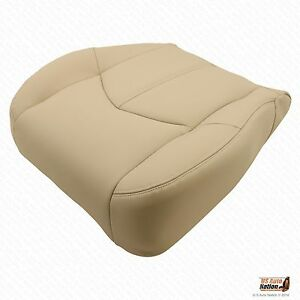 Driver Bottom Synthetic Leather Tan Seat Cover For 1999 2000 2001 Lexus Rx300
