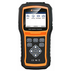 Foxwell Nt510 For Audi 80 Diagnostic Code Fault Scanner Reader Obd2 Abs Reset