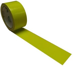 Atomic Yellow X factor Duck Tape Brand Duct Tape Neon Yellow 1 88 Inch X 15 Yd