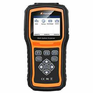 Foxwell Nt510 For Vw Fox Diagnostic Code Fault Scanner Read Erase Obd2 Abs Srs