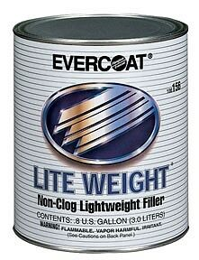 1 Can Gal 3l Fiberglass Evercoat Lite Weight Body Filler Fib 156