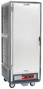 Metro C539 hfs 4 gy Full Height Insulated Holding Cabinet With Fixed Pan Slides