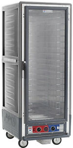 Metro C539 hfc 4 gy Full Height Insulated Holding Cabinet With Fixed Pan Slides