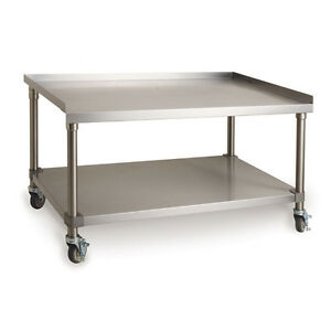 Imperial Range Stainless Steel 24 Equipment Stand For Countertop Cooking