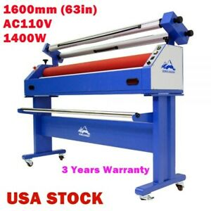 Us Stock Upgraded 63 Full auto Low Temp Wide Format Cold Laminator