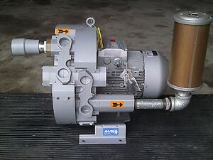 Pulled Seimens Anver Vb9hv Vacuum Lifting Regenerative Pump 5 5 Kw 3500 Rpm Kb