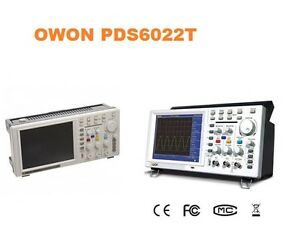 Owon Pds6062 60mhz 250ms s Real time Sample Ratedigital Storage Oscilloscope